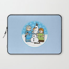 Want to Build a Snowman? Laptop Sleeve