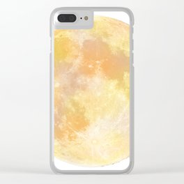 moon tapestry for window screening Clear iPhone Case