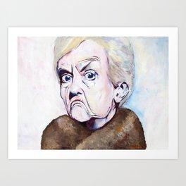 Grump Art Print