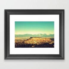 Main Hill, Los Alamos NM Framed Art Print