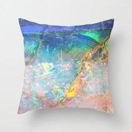 Ocean Opal Throw Pillow