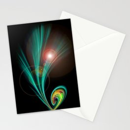Magical Light and Energy 2 Stationery Cards