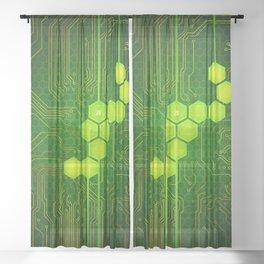 D20 Digital Crit Sheer Curtain