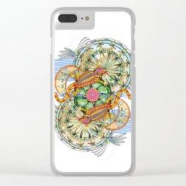 Lizard's Dream II Clear iPhone Case