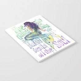 Mermaid : Profound Depths Notebook