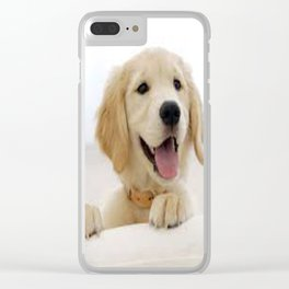 Love Dogs Dog Groomer Paw Print Grooming Cute Clear iPhone Case