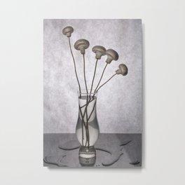 "Still life ""Bouquet of mushrooms"" Metal Print"