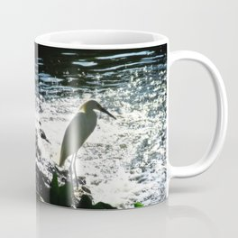 The Egret Coffee Mug