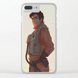 best pilot - Poe Clear iPhone Case