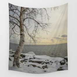 Curves of the Silver Birch by Teresa Thompson Wall Tapestry