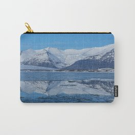 Ice lagoon Reflections Iceland Carry-All Pouch