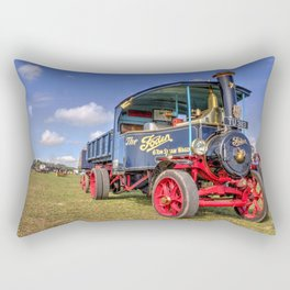 The Foden Steam Wagon Rectangular Pillow
