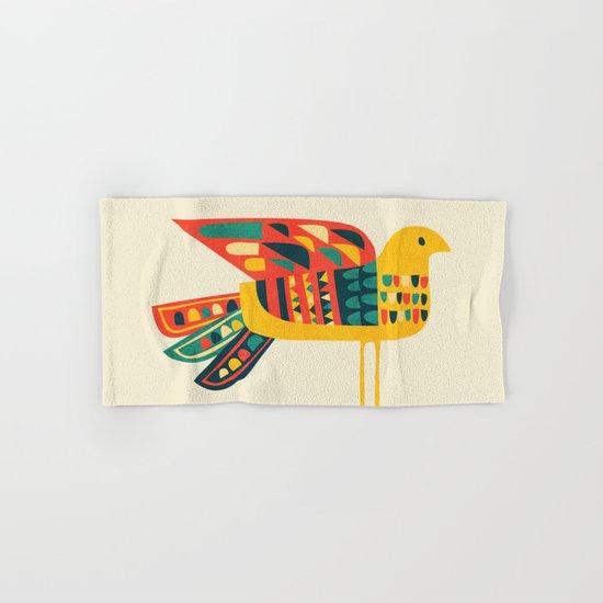 Century Bird Hand & Bath Towel