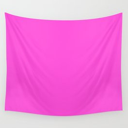 Simply Solid - Pizzazz Wall Tapestry