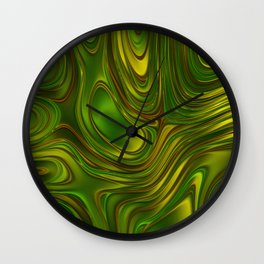 Energy Liquids 1 Wall Clock