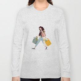 Weekend errands Long Sleeve T-shirt