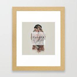 The Chainsmokers Closer Framed Art Print