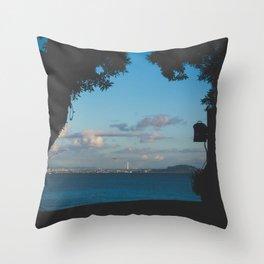 Sausalito Window Throw Pillow