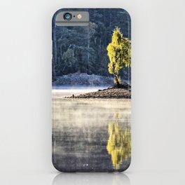 Glen Affric morning mood iPhone Case