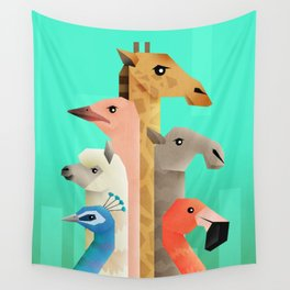 Long necks Wall Tapestry