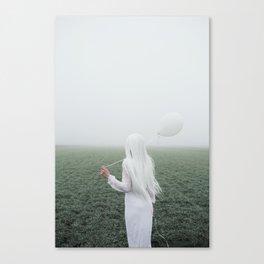 White girl Canvas Print