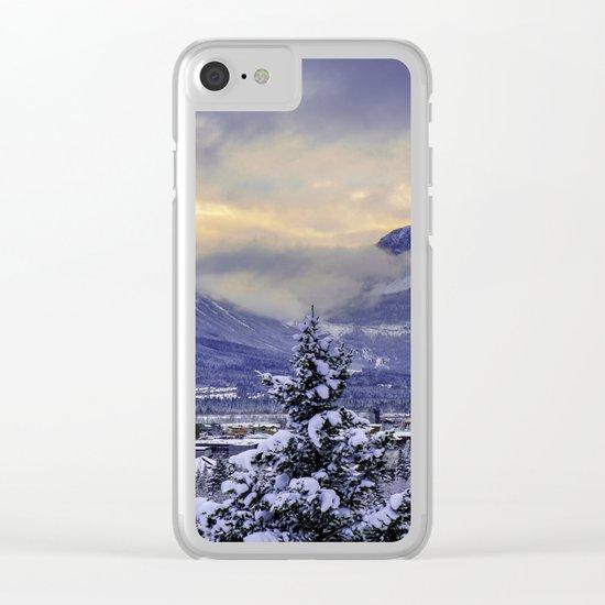 Winter Wonderland #snow Clear iPhone Case