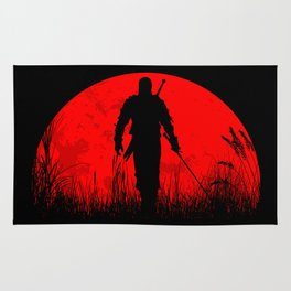 Geralt of Rivia - The Witcher Rug