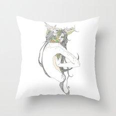 colour blind II Throw Pillow