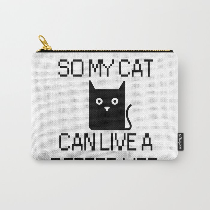 Cat Lover Carry-All Pouch