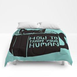 Cat Reader Advice Comforters