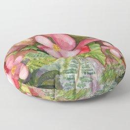 Begonia Beauty Floor Pillow