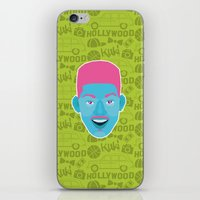 fresh prince iPhone & iPod Skins featuring Will - The fresh prince of Bel-Air by Kuki