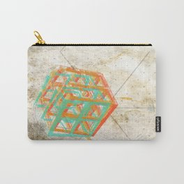 Geometric Grunge One Carry-All Pouch