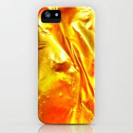 Golden Fabric iPhone Case