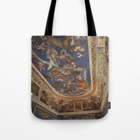 baroque Tote Bags featuring Baroque by Lorenzo Bini