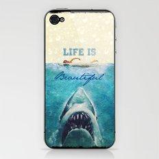 Life is Beautiful - for iphone iPhone & iPod Skin
