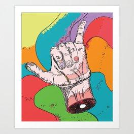 Hang Loose Art Print