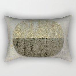 Glamorous Golden Circle Sparkling Elegance Rectangular Pillow