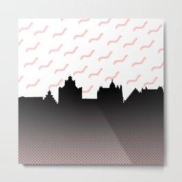 Cityline Design Metal Print