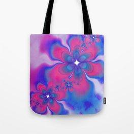 Fleurs Fête Fractal Tote Bag