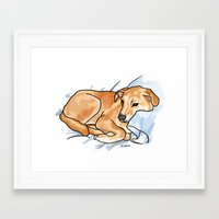 leo Framed Art Prints featuring Leo by Ken Coleman