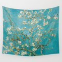Vincent Van Gogh's Branches of an Almond Tree in Blossom by mosfunky