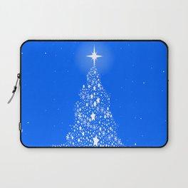 Star Spangled Snowflake Christmas Tree Laptop Sleeve