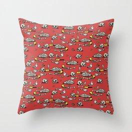 Skellie Pattern Throw Pillow