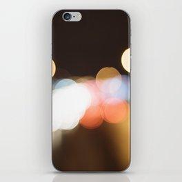 Street Light Bokeh iPhone Skin