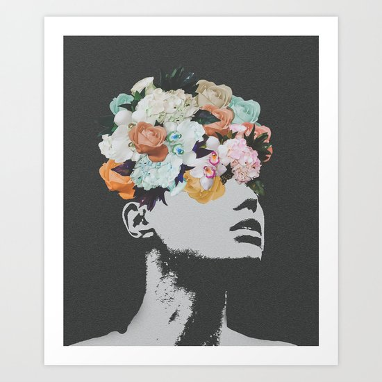 Flowers on the Mind Art Print