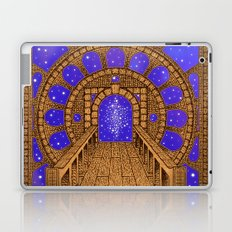 orvio illuminated space mandala Laptop & iPad Skin
