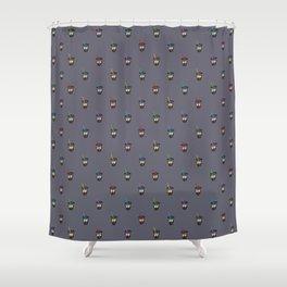 BOBA PLEASE {earl grey} Shower Curtain