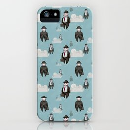 Impression Magritte iPhone Case