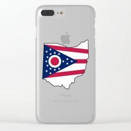 Ohio Love Clear iPhone Case